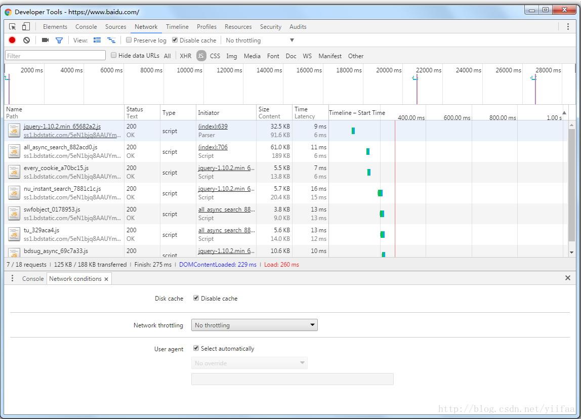 帮助前端刷新调试开发,禁止Chrome浏览器缓存方式!