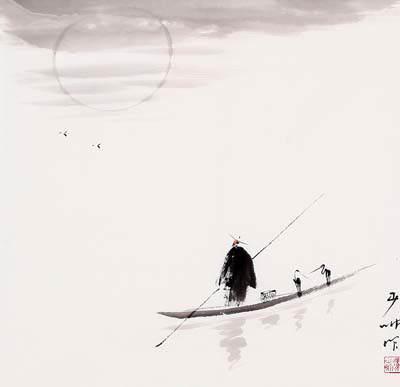 """小泊画桥东。孤舟月满篷""""_【宋朝】_【贺铸】"""