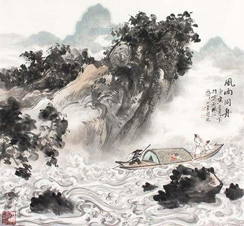 【南浦凄凄别,西风袅袅秋】_【唐朝】_【白居易】