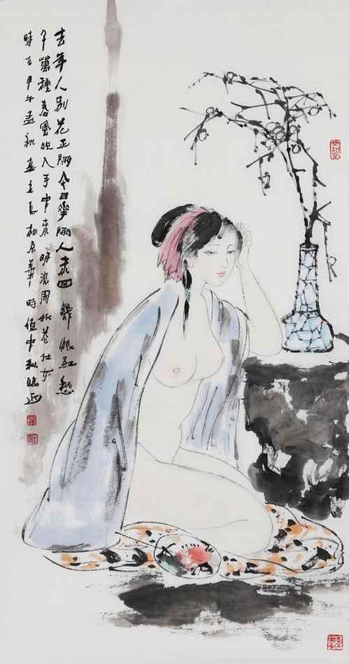 """""""紫恨红愁千万种,春风吹入此中来"""" _【明朝】_【沈周】"""