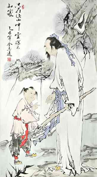 """""""只在此山中,云深不知处""""_【唐朝】_【贾岛】"""