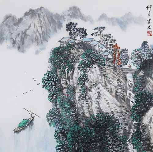 【绿树阴浓夏日长,楼台倒影入池塘】_【唐朝】_【高骈】