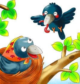 小乌鸦爱妈妈歌词-小乌鸦爱妈妈LRC歌词-群星