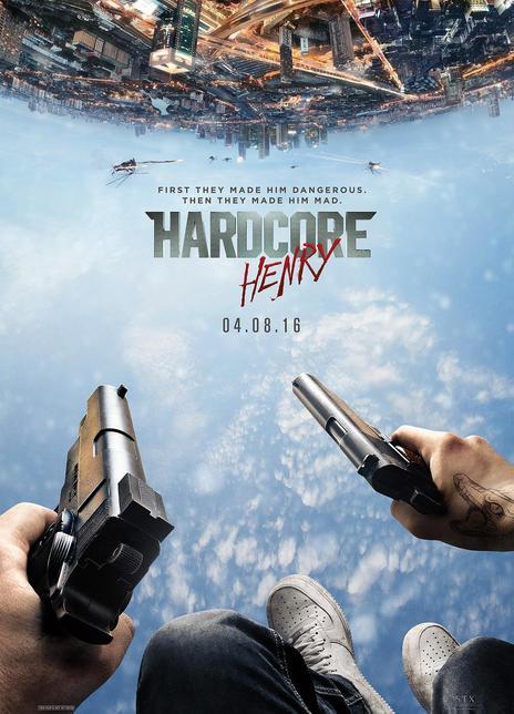 《硬核亨利》电影好看吗?硬核亨利影评及简介