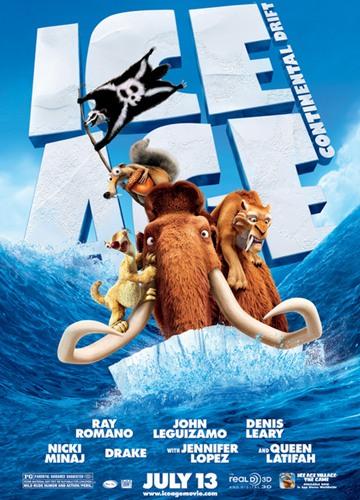 《冰川时代4》电影好看吗?冰川时代4影评及简介