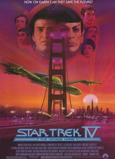 《星际旅行4:抢救未来》电影好看吗?星际旅行4:抢救未来影评及简介