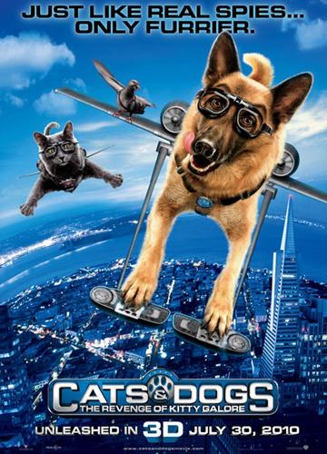 《猫狗大战2:珍珠猫复仇》电影好看吗?猫狗大战2:珍珠猫复仇影评及简介