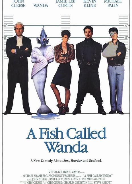《一条叫旺达的鱼》电影好看吗?一条叫旺达的鱼影评及简介
