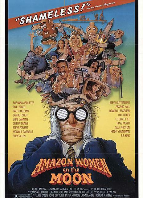 《月亮中的亚马逊女人》电影好看吗?月亮中的亚马逊女人影评及简介