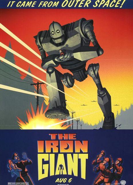 《钢铁巨人》电影好看吗?钢铁巨人影评及简介