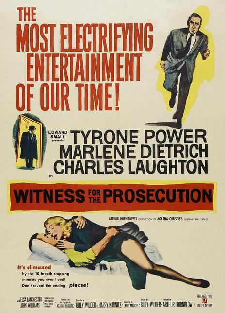 《控方证人》电影好看吗?控方证人影评及简介