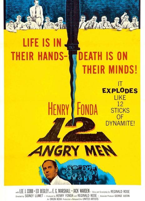 《十二怒汉》电影好看吗?十二怒汉影评及简介