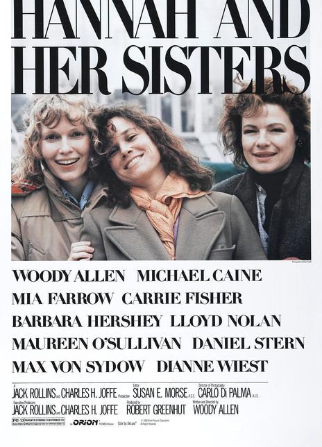 《汉娜姐妹》电影好看吗?汉娜姐妹影评及简介