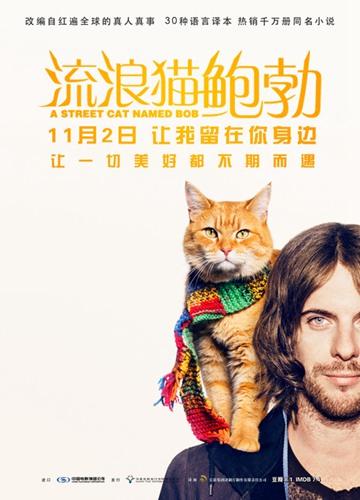 《流浪猫鲍勃》电影好看吗?流浪猫鲍勃影评及简介