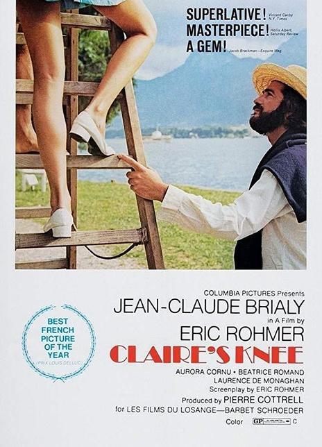 《克莱尔的膝盖》电影好看吗?克莱尔的膝盖影评及简介
