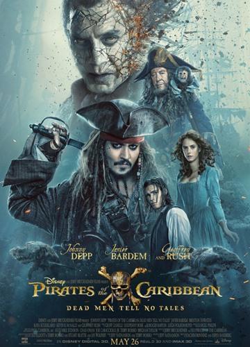《加勒比海盗5:死无对证》电影好看吗?加勒比海盗5:死无对证影评及简介