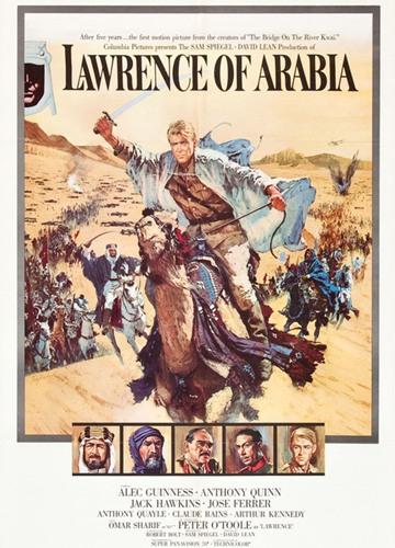 《阿拉伯的劳伦斯》电影好看吗?阿拉伯的劳伦斯影评及简介