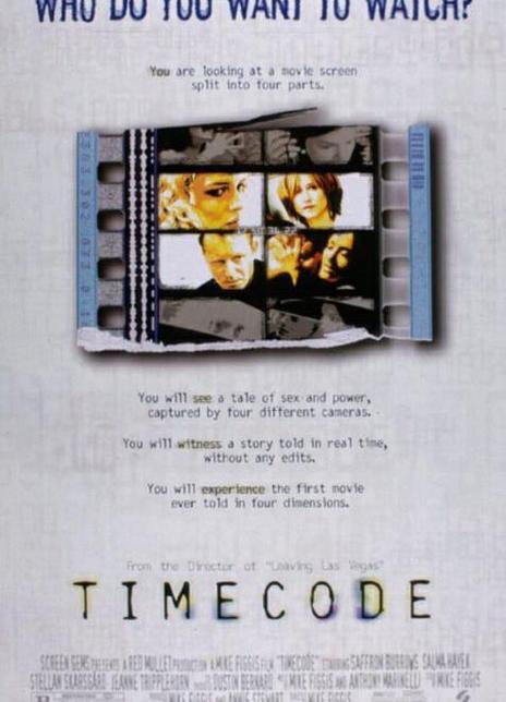 《时间编码》电影好看吗?时间编码影评及简介
