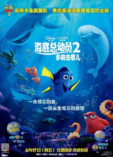 《海底总动员2:多莉去哪儿》电影好看吗?海底总动员2:多莉去哪儿影评及简介