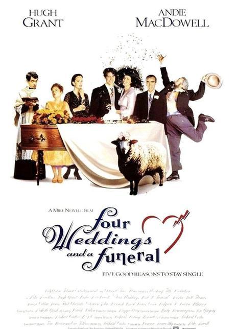 《四个婚礼和一个葬礼》电影好看吗?四个婚礼和一个葬礼影评及简介