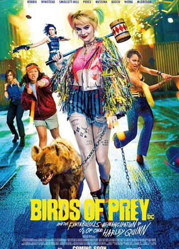 《猛禽小队和哈莉·奎茵》电影好看吗?猛禽小队和哈莉·奎茵影评及简介