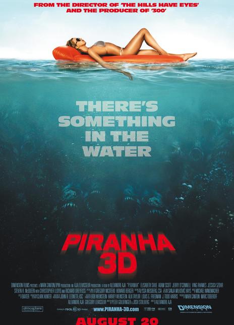 《食人鱼3D》电影好看吗?食人鱼3D影评及简介